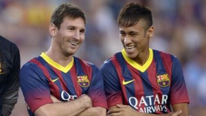 Neymar and Lionel Messi - (C) Christian Ruiz V