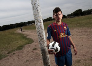 Maxi Rolon: Allegedly one of the 10 under age players whose transfer lead to FIFA's banning of Barcelona FC from the next two transfer windows