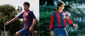 From the outset Rolón has had big shoes to fill at Barcelona