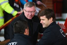 Mauricio Pochettino and Sir Alex Ferguson: Could the Argentine Be The Right Man To Succesfully Replace The Legendary United Boss? (Photo: www.zimbio.com)