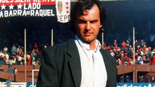 Image result for young marcelo bielsa