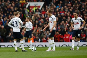 Spurs were blown away at Old Trafford last season