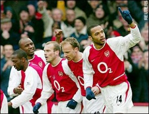 Arsenal have struggled since the days of Bergkamp, Henry and Vieira