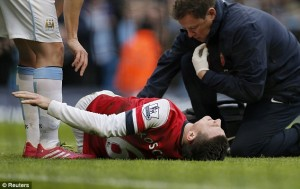 Laurent Koscielny is amongst those who are suffering from muscular injuries