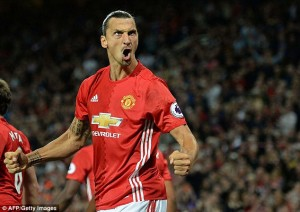Zlatan Ibrahimovich has adapted very quickly to life in the Premier League