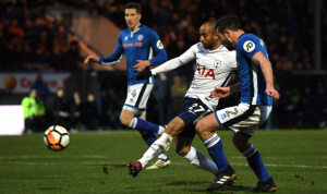 Tottenham were frustrated by Rochdale on Sunday